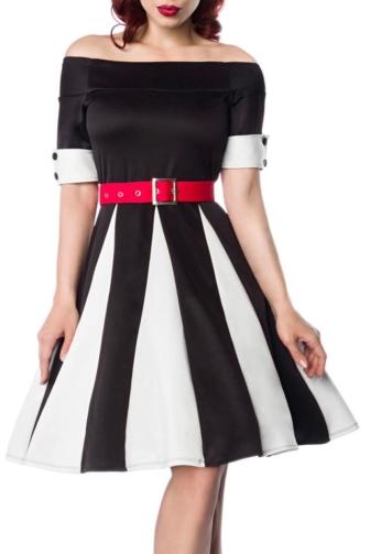 Godet-Kleid