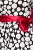 SONDERPOSTEN Vintage-Bandeau-Kleid