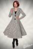 Vintage Mantel mit Schalkragen