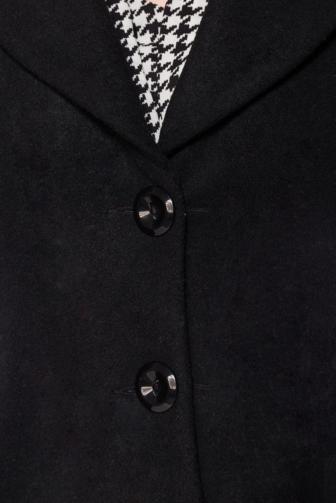 Vintage Wolljacke mit Schalkragen
