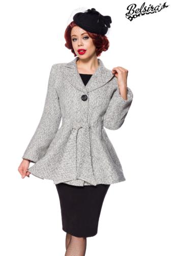 Belsira Premium Blazer-Jacke mit Gürtel