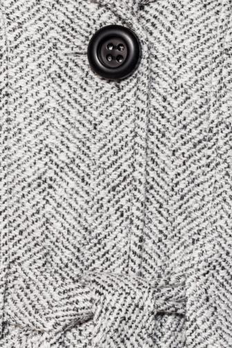 Vintage Jacke mit Gürtel