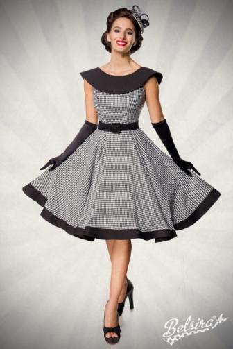 Premium Vintage Swing-Kleid